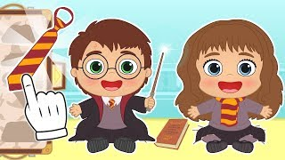 BABY ALEX AND LILY ✨ Dress up as Harry Potter and Hermione Granger | Children's Cartoons
