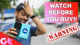 DO NOT BUY JIO PHONE 2 Before Watching this | Rs 1500 Wasted! | GT Hindi
