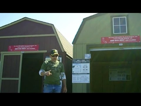 How To Convert A Shed To A Cabin!   YouTube