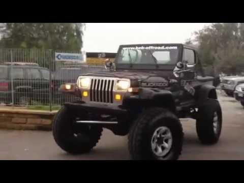 jeep wrangler unimog 5 9 v8 beb auto youtube. Black Bedroom Furniture Sets. Home Design Ideas
