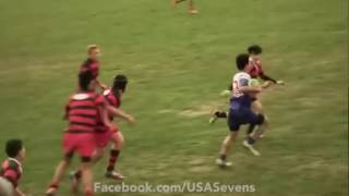 13 year old rugby player