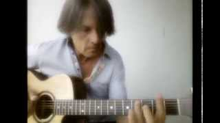 """Sailing"" - Christopher Cross -  Acoustic Solo Fingerstyle Guitar Cover by Fabrizio Pieraccini"