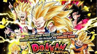 800 STONES! PHY SUPER SUPER SAIYAN 3 GOTENKS DOKKAN FESTIVAL SUMMONS [GLOBAL]   DBZ Dokkan Battle