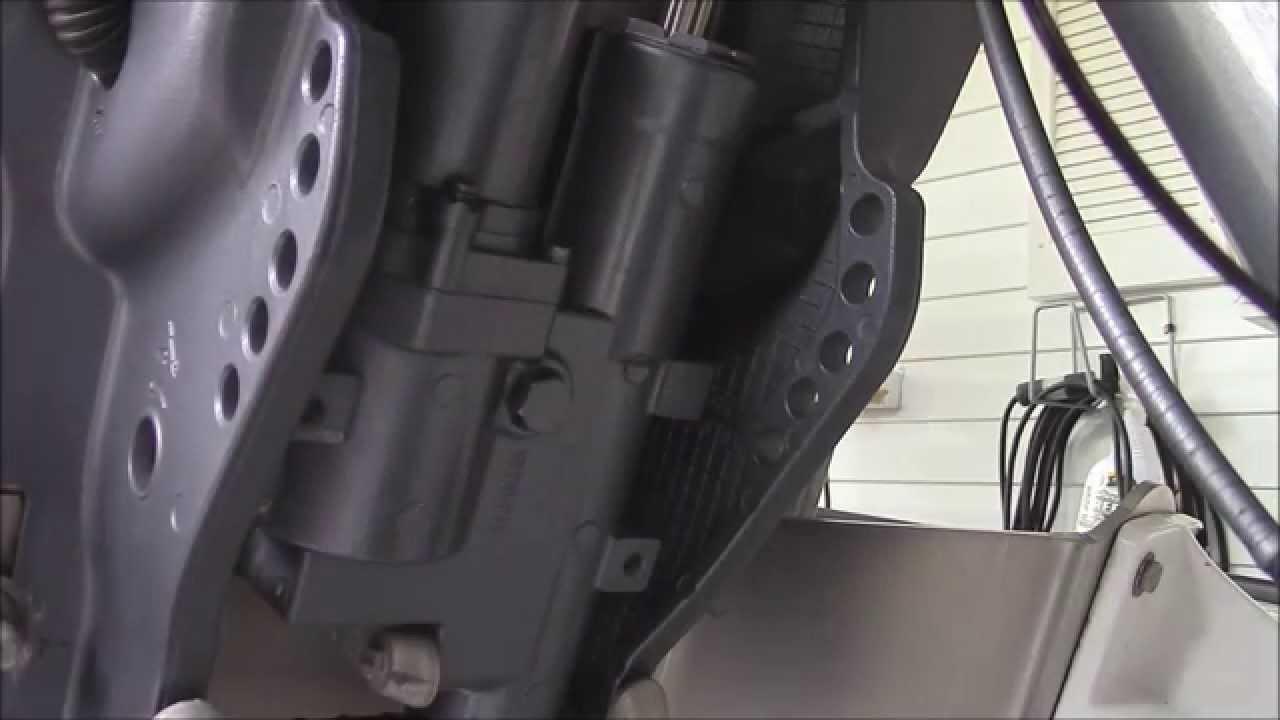 Yamaha Trim & Tilt Trouble Shooting Fix  YouTube
