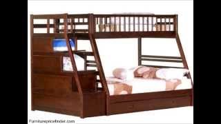 Twin/full Storage Step Bunk Bed, 2 Drawers (espresso)