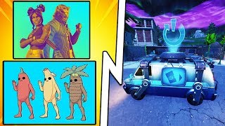 Fortnite News - RESPAWN VAN, Peely Skin Edit Styles, $100,000 Luxe Cup! (Fortnite Battle Royale)