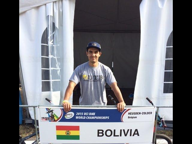 Raul Ruiz Astorga - 4to Lugar en UCI BMX World Challenge Zolder, Bélgica 2015