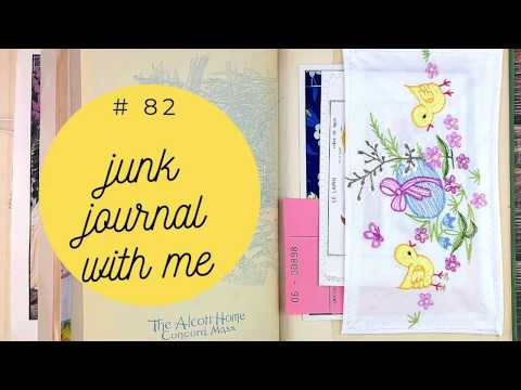 Junk Journal With Me 82