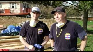 Construction begins for Tully family's home makeover