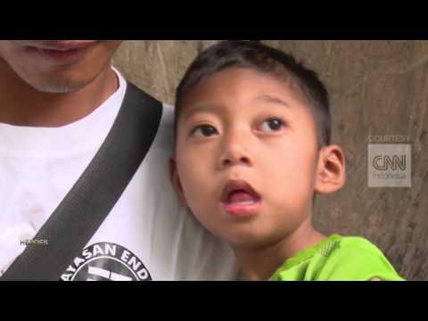 CNN 'Lombok Forgotten Children - Endri Foundation'  INDONESIA HEROES