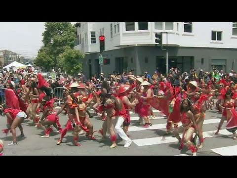 Part 2 of 2: Carnaval San Francisco Parade 2017