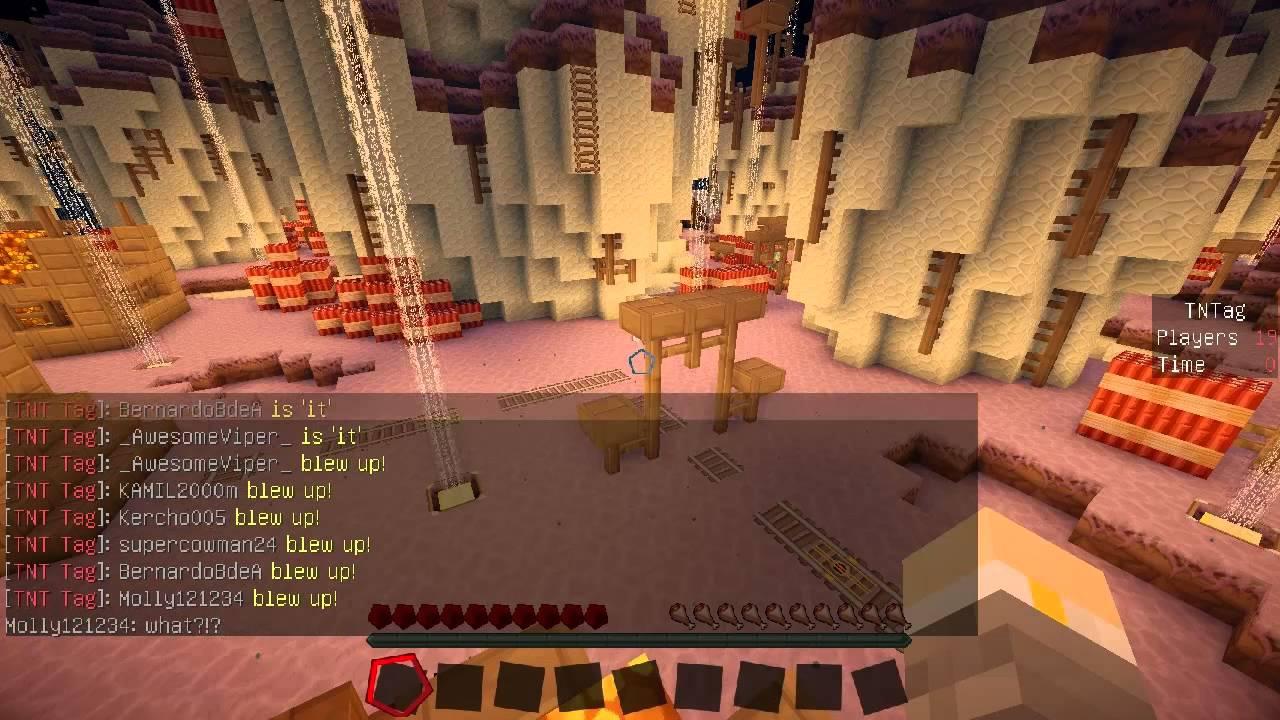 ★當個創世神★Minecraft《籽岷的多人小遊戲 Hypixel伺服器 TNT 歡樂大串燒》 - YouTube