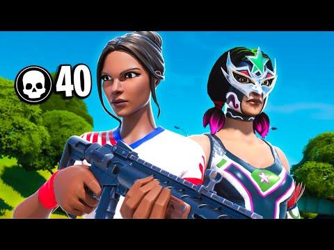 40 Kill Duo Squad | Chapter 2 Fortnite