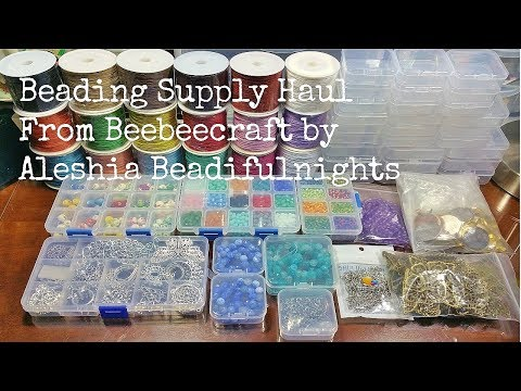 Beading Supply Haul From Beebeecraft