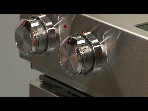 Left Front Control Knob - Kitchenaid Electric Slide-In Range Model #KSEB900ESS2