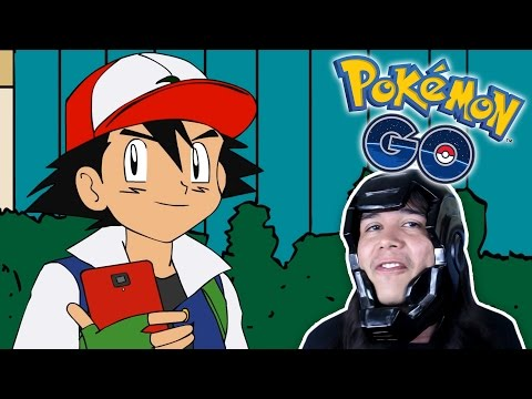ASH JUEGA POKÉMON GO! | Video Reacción - Eddie Warboy