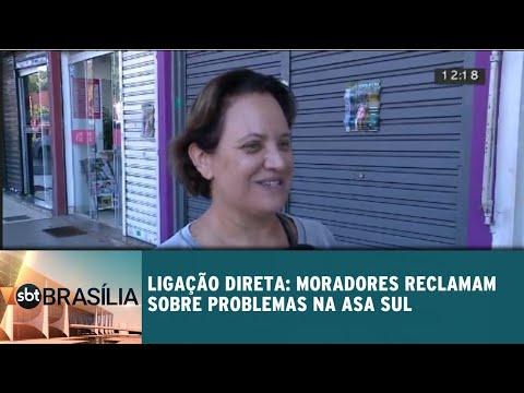 Ligação Direta: moradores reclamam sobre problemas na Asa Sul | SBT Brasília 17/07/2018