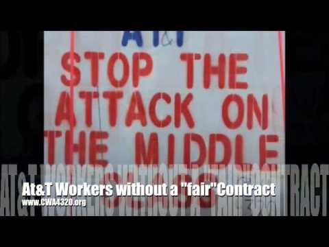 AT&T = Corporate Greed (local CWA4320.org)