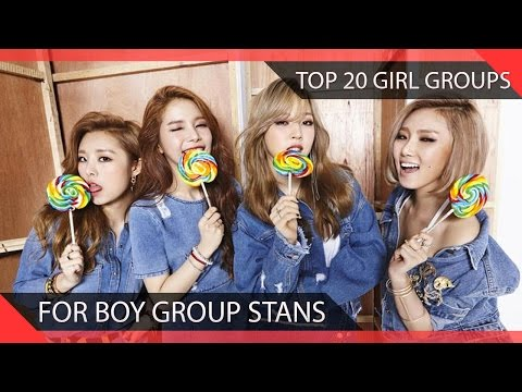 Top 20 Kpop Girl Groups For Boy Group Stans