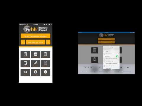 hh2 University - The New hh2 Remote Payroll App