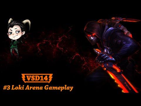 #3 Loki Smite Arena Gameplay 1080p