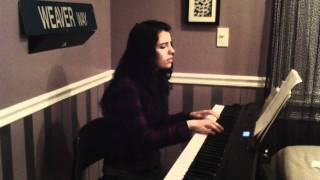 Skinny Love: Birdy (piano cover) Bon Iver Song - Katelyn Weaver