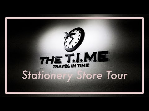 The T.I.ME Store | Korean Stationery Store Tour