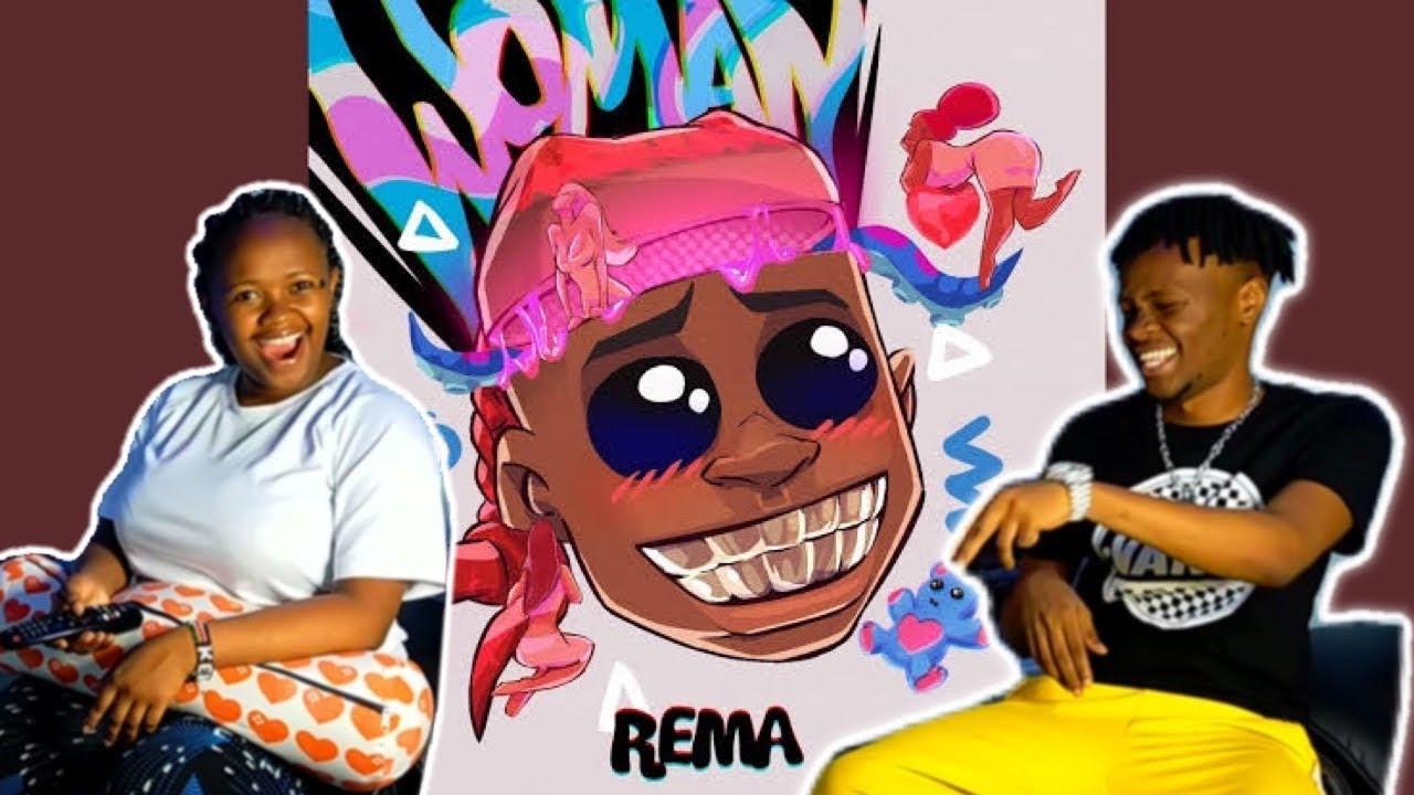 @Rema - WOMAN | KENYAN REACTION VIDEO
