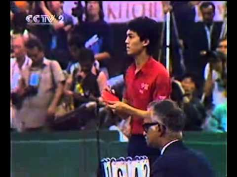 1987 WTTC Men Final Jiang Jialiang vs Jan-Ove Waldner