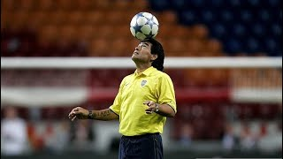 Old Diego Maradona Has More Skills Than Today