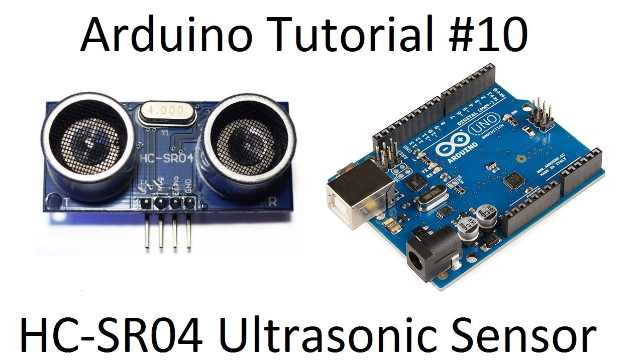 Arduino ultrasonic hc sr range sensor robotics