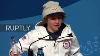 South Korea: Youngest snowboard Olympic gold medalist talks winning, catching up on homework