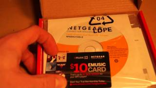 Unboxing Of Netgear N600 Wireless Dual Band USB Adapter