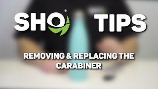 SHO Tips - Removing and Replacing the Carabiner