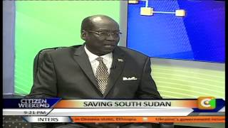 Barnaba Marial, S Sudan Foreign Affairs Minister Talks about Saving the Country From War