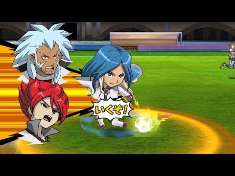 Inazuma Eleven Strikers Go 2013 Genesis vs Inazuma Japan Wii Epic (hacks for Dolphin)