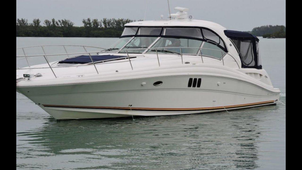 2007 sea ray 44 sundancer yacht for sale at marinemax