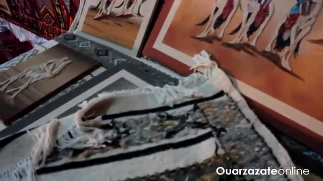 فيديو : من قلب ملتقى الصناعة التقليدية بورزازات
