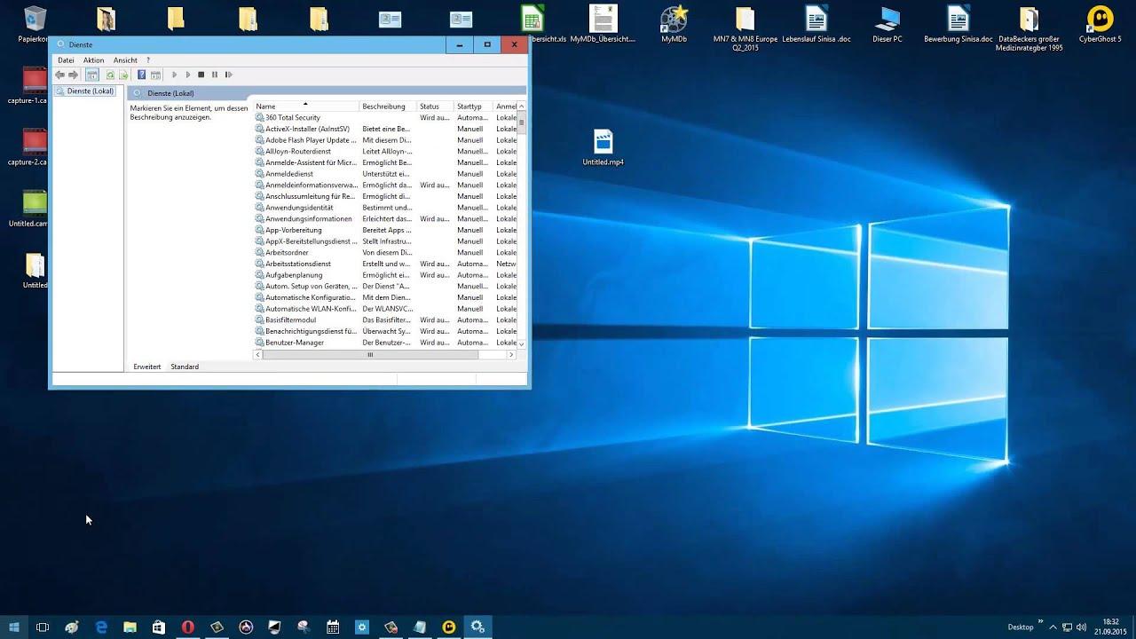 Windows 10 Update deaktivieren - YouTube