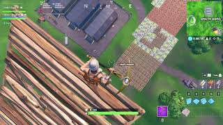 fortnite water bottle flip from max height!!