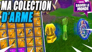 My Collection of Weapons - Rare Objects! Fortnite Saving the World