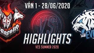 Highlights CES vs EVS [Ván 1][VCS 2020 Mùa Hè][28.06.2020]