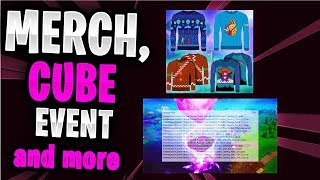 Cube Event, Map Changes & more... - Fortnite News