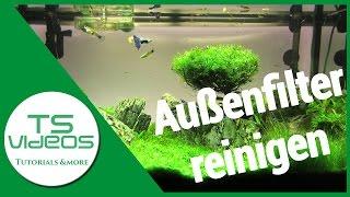 Aquarium Außenfilter reinigen/säubern - TSVideos