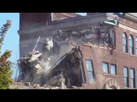 ENAD Wrecking Ball Demolition - Purdue University 9/18/14