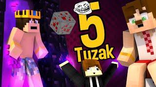 Minecraft 5 Tane Basit Troll Tuzak ! (Hepsi Çok Basit)