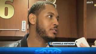 Carmelo Anthony on New York Knicks unknown future