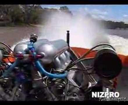 Twin Turbo 4.5L Nissan Boat Engine