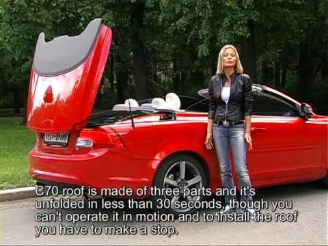 Тест-драйв кабриолета Volvo C70 (2010) с Натальей Дворецкой