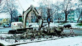 Pomnik przy Kościuszki w Dębicy legł w gruzach